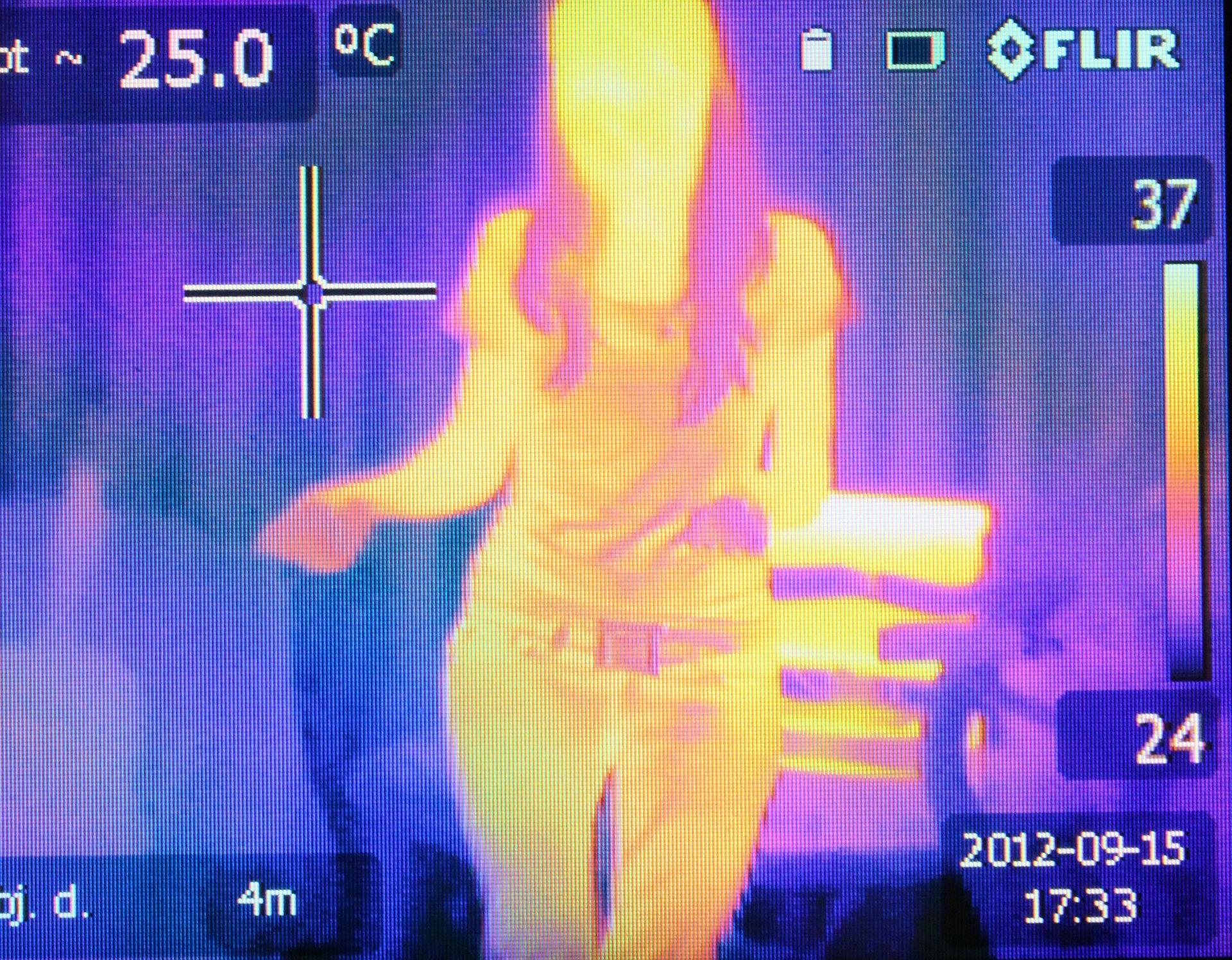 cámara temperatura